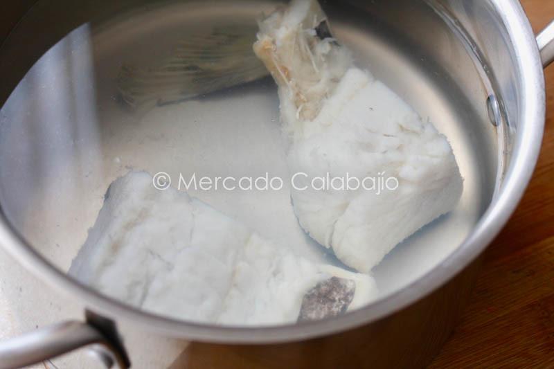 GUISO DE ALBONDIGAS CON BACALAO-2