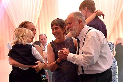Jill and Paul Weaver met grandson Jasper and his mum on the dance floor - 7 March 2017