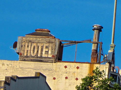 Hotel ghost sign san francisco ca ghost sign for a for San francisco haunted hotel