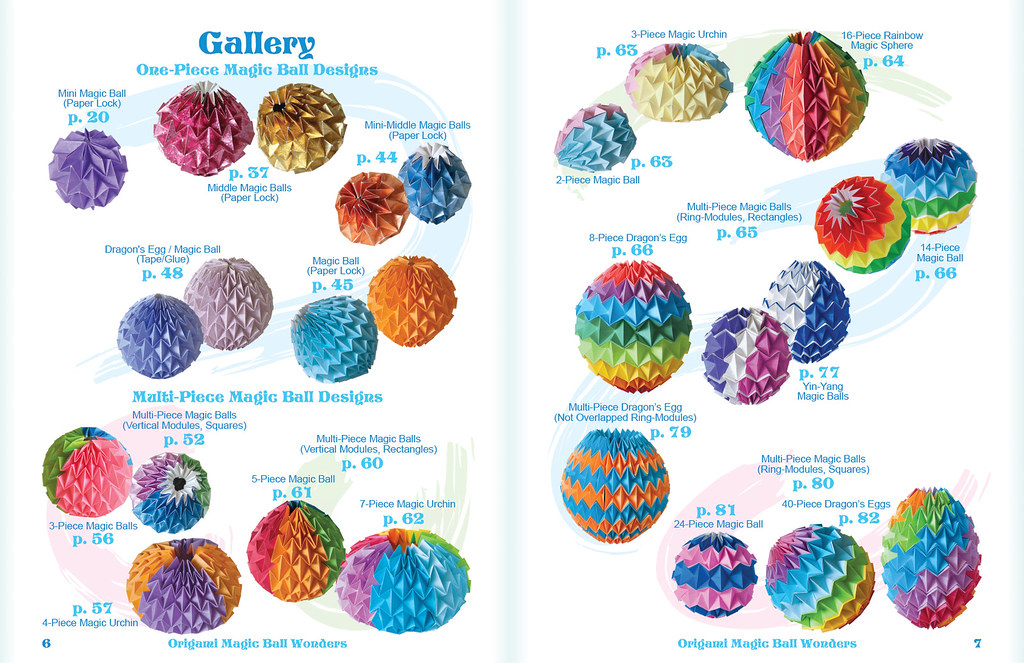 Origami Magic Ball Wonders Gallery Of Designs 1 Flickr