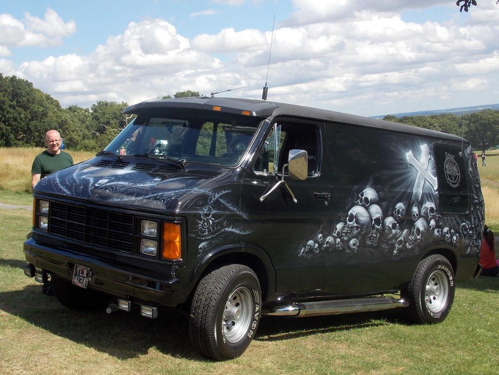 1982 Dodge Ram Van Custom Van Detonators Bbq Oxleas
