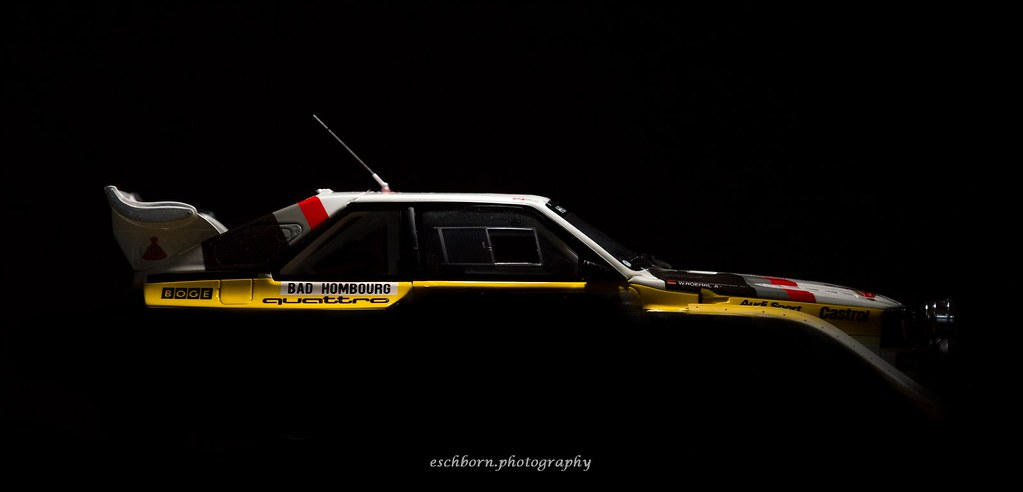 Group B Monster Silhouette Audi Sport Quattro S1 E2 1 18
