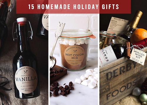 15 Homemade Holiday Gifts | by Tasty Yummies