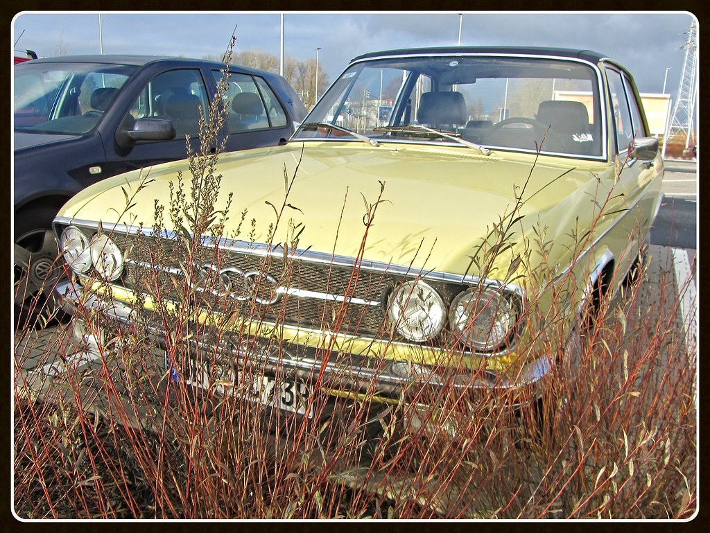 Audi 100 GL, 1973 | Spotted next to Bremerhaven, décembre 20 ... Audi Gl on the new audi, first audi, blue audi, exotic audi, pink audi, chief keef audi, white audi, all black audi, golden audi, fast audi, cheap audi, matchbox audi,