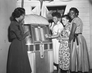 Women at the jukebox during New Year's Eve party in Tallahassee | by State Library and Archives of Florida