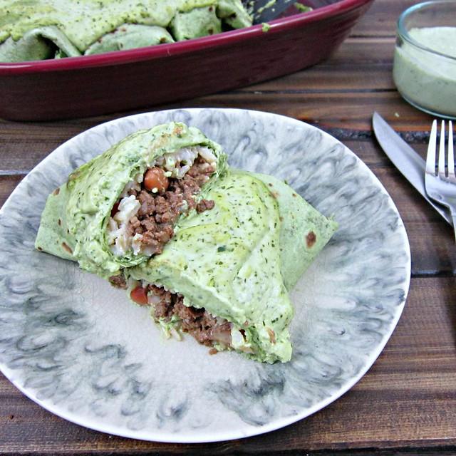 Venison Burrito Filling