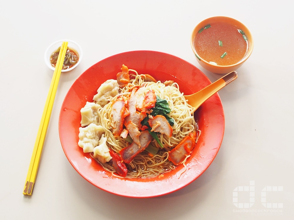 alexandra village, alexandra village food centre, dover road, dover road kai kee wanton noodle, food, food review, kai kee, kai kee wanton noodle, review, wanton noodle,