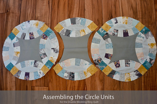 DWR:: Assembling the circle units (16 of 'em)