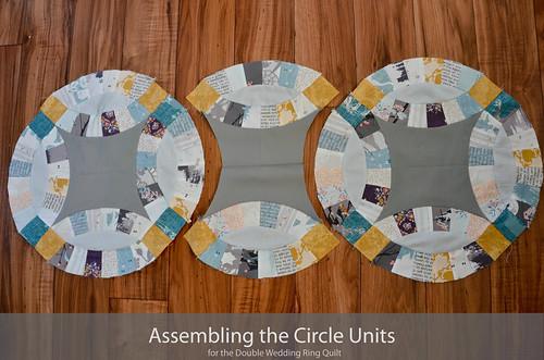 DWR:: Assembling the circle units (16 of 'em)