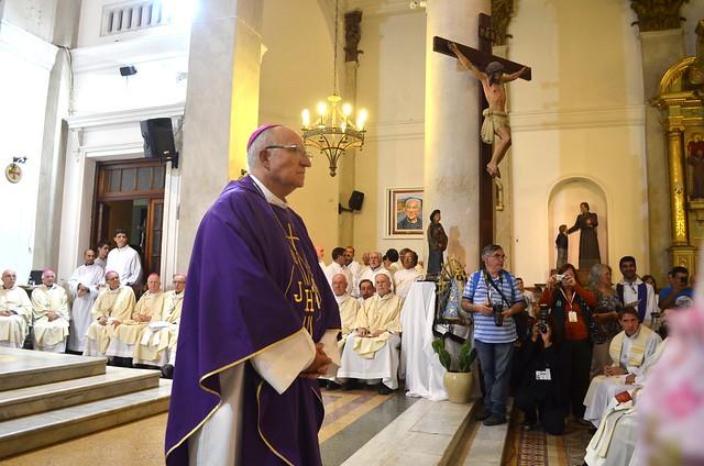 La Iglesia en Morón recibió a su obispo coadjutor