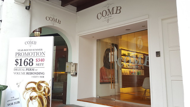 The Comb Hair Salon Singapore, 12 Gemmil Lane (+65 6438 3138)