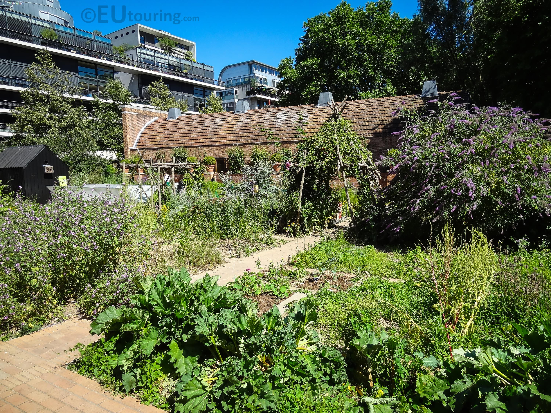 Kitchen garden of Maison du Jardinage