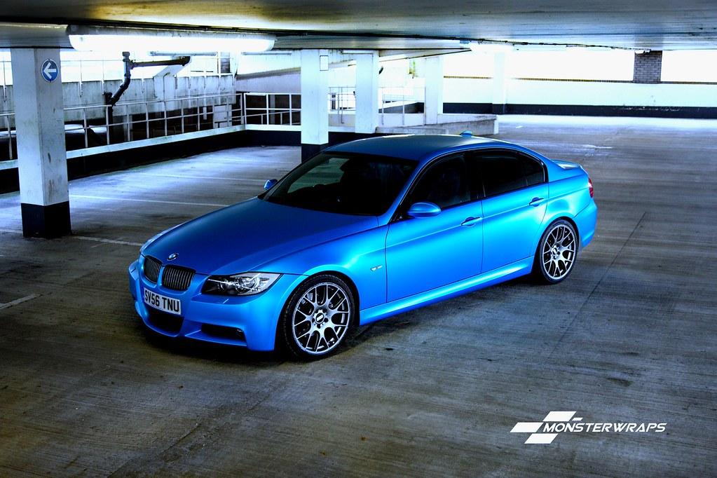 BMW I Series >> BMW E90 Satin Ocean Shimmer wrap | BMW E90 Satin Ocean Shimm… | Flickr