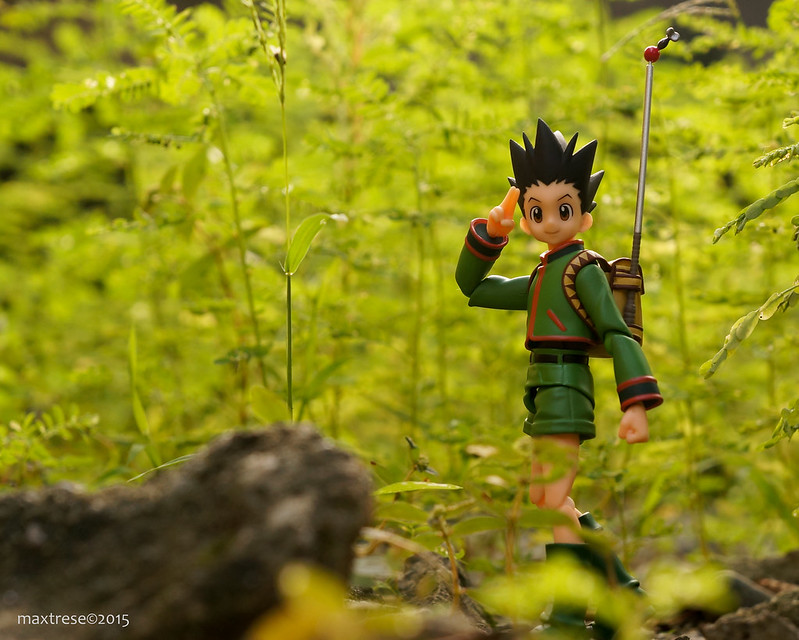 Figma Gon of Hunter x Hunter