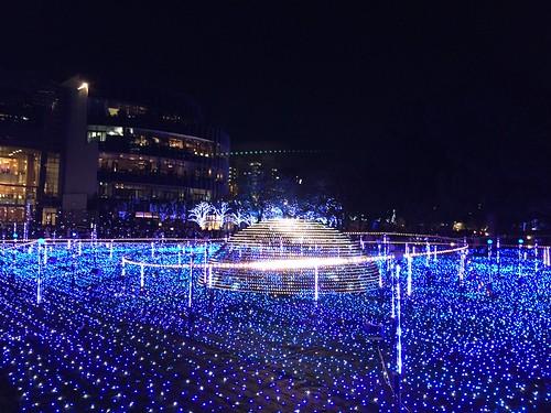 東京ミッドタウンのイルミネーション2015