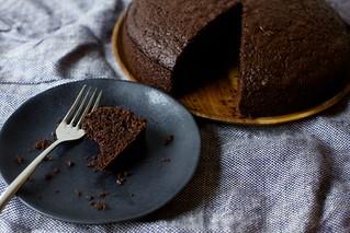 巧克力橄榄油蛋糕