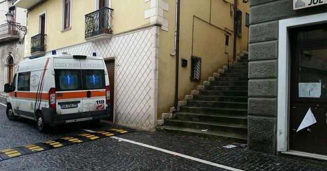 tragedia padula ambulanza
