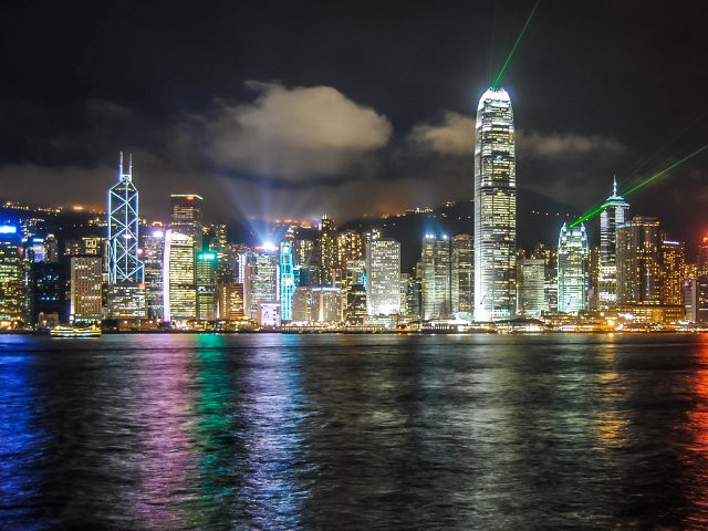 simfonia luminii tsim sha tsui Hong Kong obiective turistice