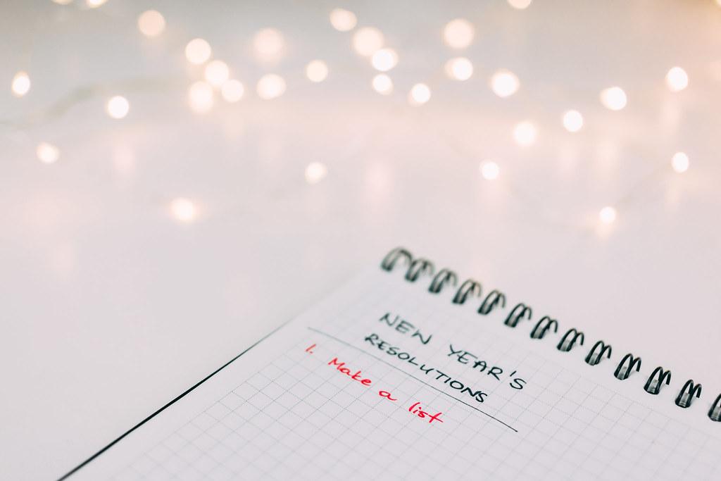 Bilderesultat for list of new year's resolutions