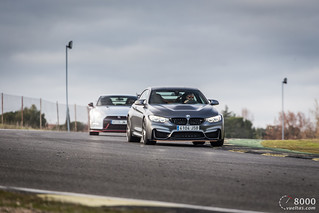 BMW M4 GTS vs Nissan GT-R NISMO | by 8000vueltas