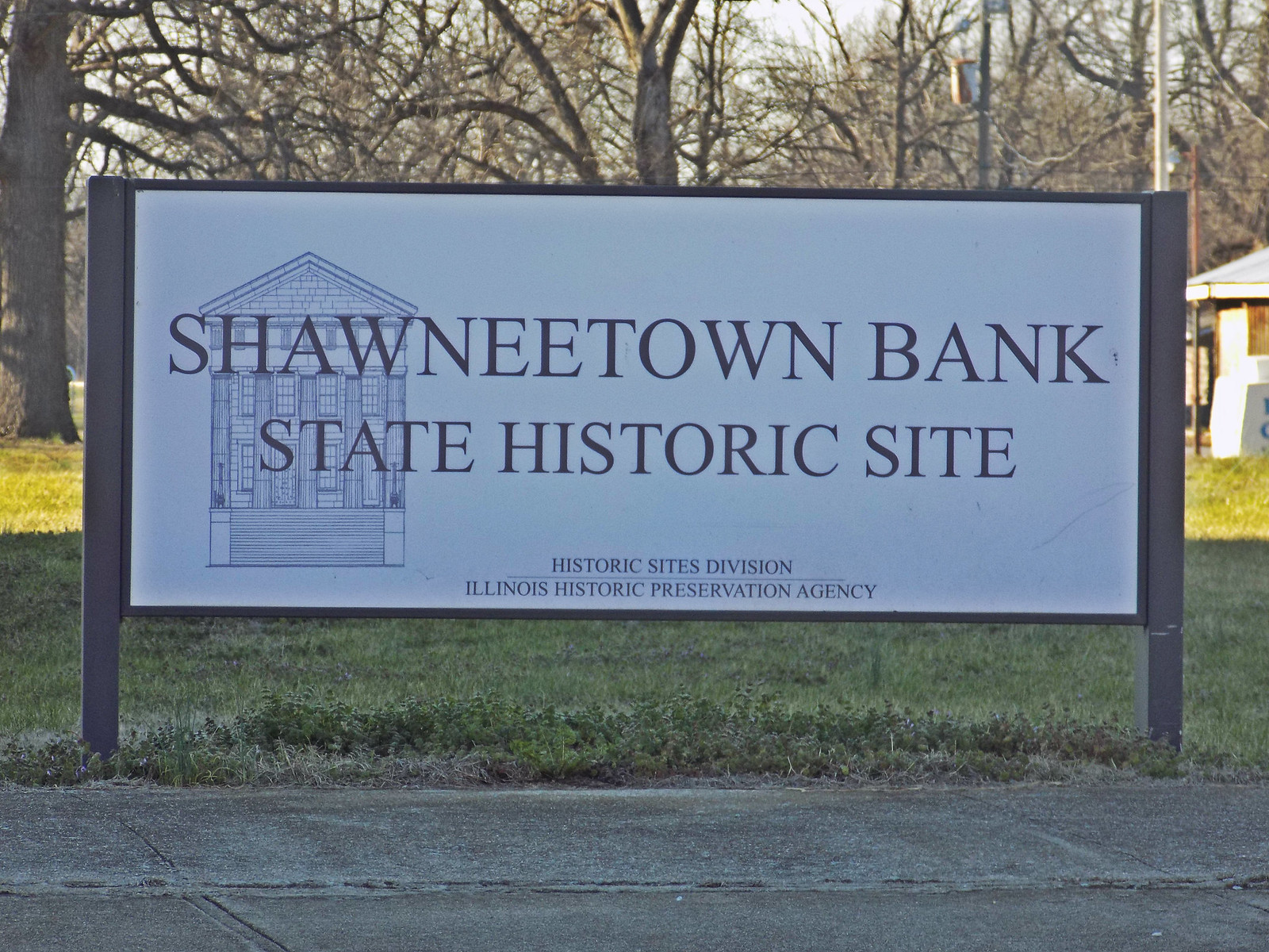 Old Shawnee Town Bank -- Old Shawneetown, Illinois
