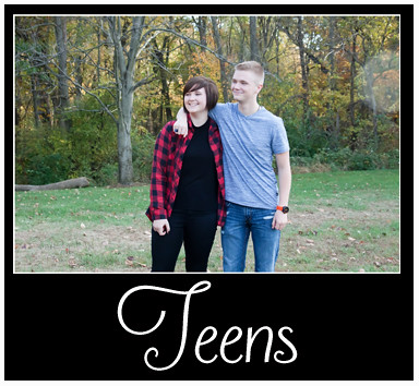 Teens Portfolio Button