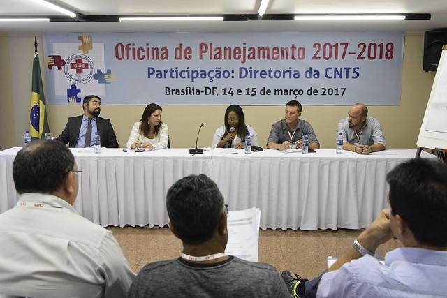 Oficina de Planejamento - CNTS 2017