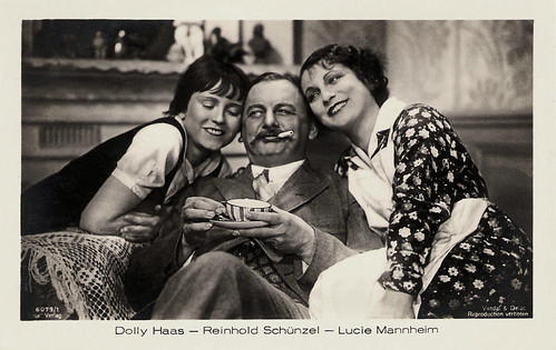 Dolly Haas, Reinhold Schünzel and Lucie Mannheim in Der Ball (1931)