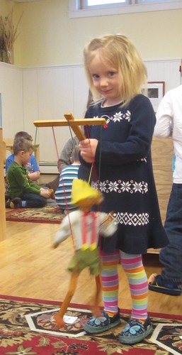 making the marionette dance