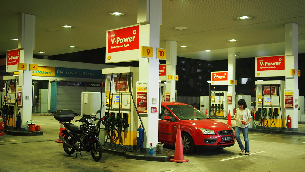 That's me at Shell Toa Payoh.