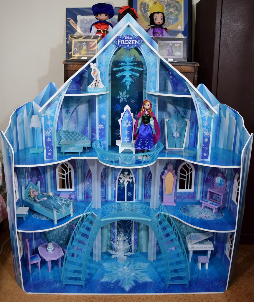 Disney Frozen Snowflake Mansion By Kidkraft Fully Assemb