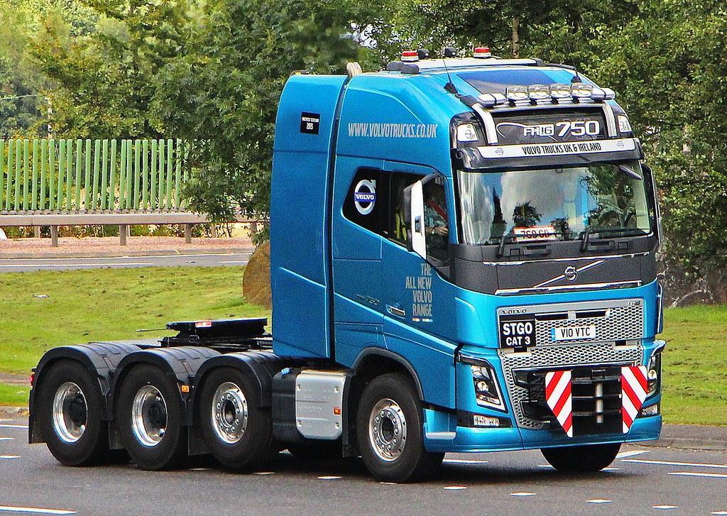 Volvo Fh16 750 Volvo Trucks Uk Amp Ireland V10 Vtc