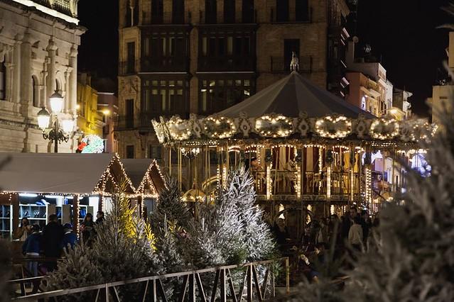 Foto de Navidad en Sevilla