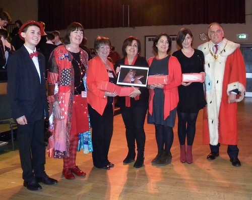 RED award, Yvonne Manning, Cathy MacPhail, Narinder Dhami, Sarah Moore Fitzgerald, Clare Furniss, Provost Reid