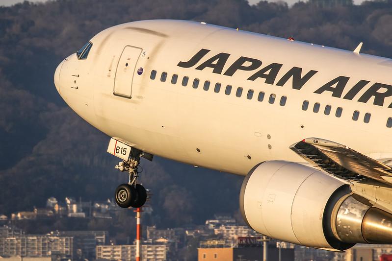 伊丹スカイパーク JA615J 日本航空 Boeing 767-300 JAL
