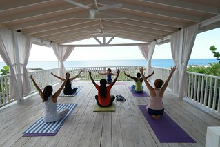 Outdoor Yoga at The Cliff | by Barney A Bishop