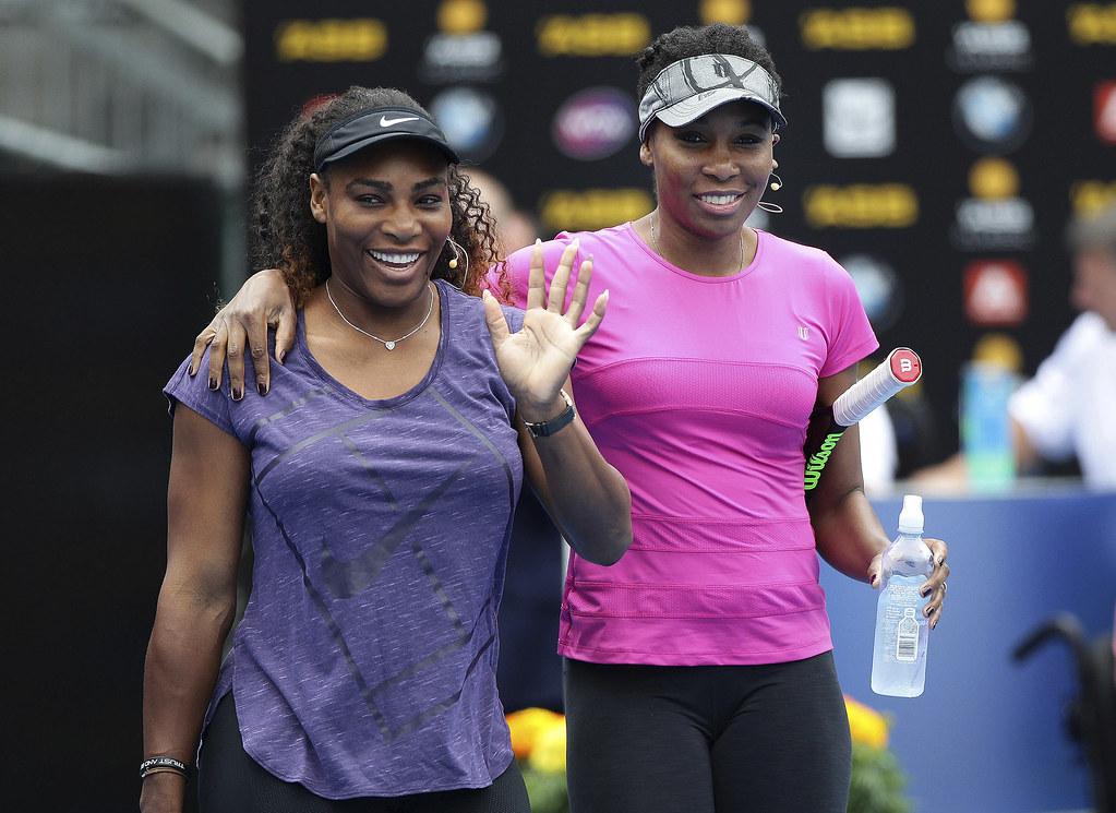 Williams姊妹將出席美國聯邦盃8強賽。(達志影像資料照)