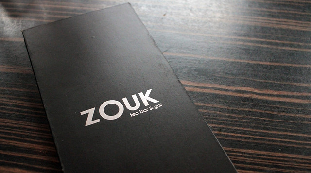 Zouk Tea Bar and Grill manchester