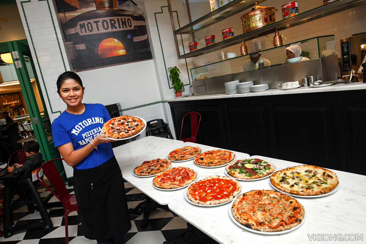 Motorino Pizzeria Genting