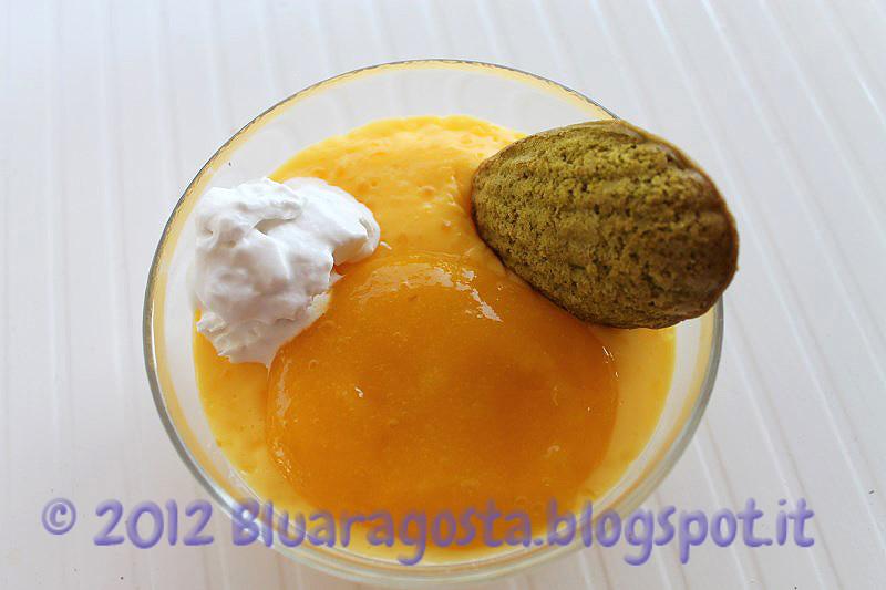 05-tapioca pudding con cocco e mango al tè verde
