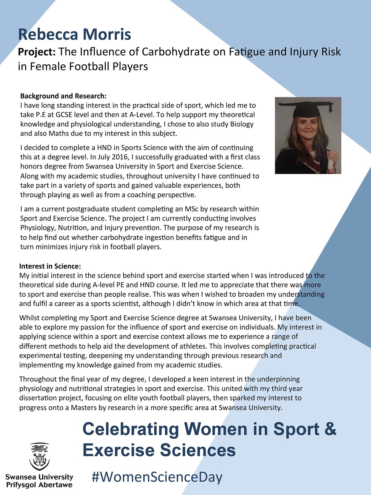 Women in Sport & Exercise Sciences