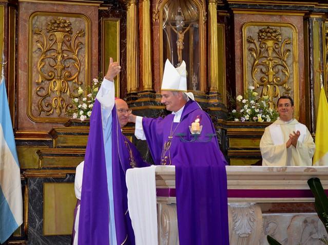 La diócesis junto a monseñor Vázquez