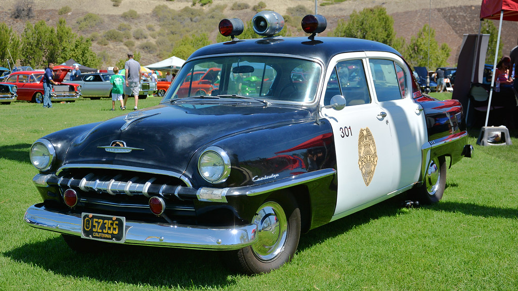 Old Time Cop Car | 0 - 60 MPH in 18.9 seconds. Top speed 90 … | Flickr