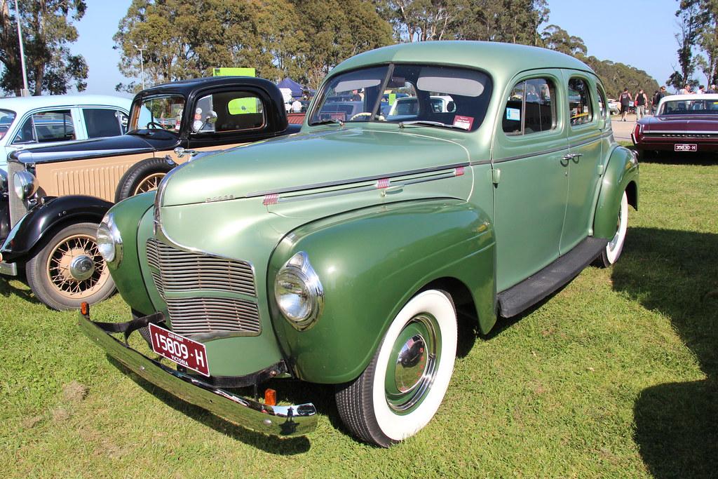 1940 Dodge D14 Luxury Liner Sedan The Dodge Brothers
