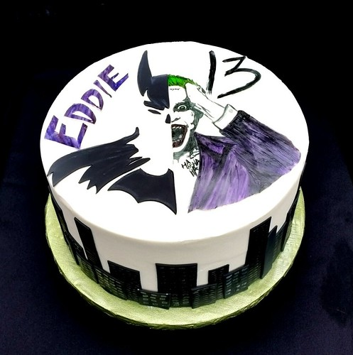 Joker Birthday Cake Ideas