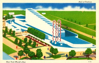 The 1939 New York Worlds Fair Postcard (Building The World Of Tomorrow) - The Hall Of Fashion | by France1978