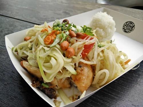 Roast Chicken with Som Tum
