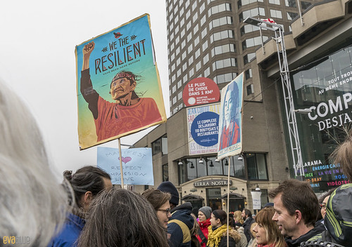 manif des femmes women's march montreal 60 | by Eva Blue