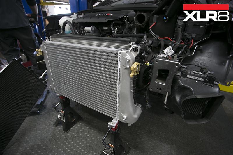 is38 with stock intercooler - GOLFMK7 - VW GTI MKVII Forum / VW Golf