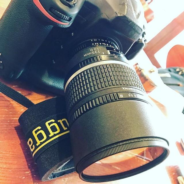 Nikon 135mm f2 DC 散景再試